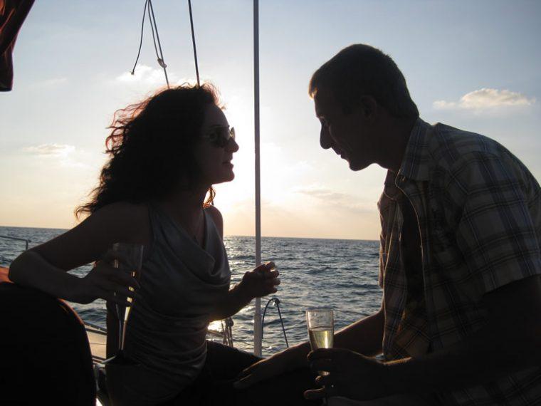שייט רומנטי בהרצליה