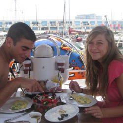 הפלגה רומנטית עם ארוחה מפנקת